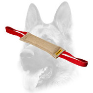 Splendid Jute Dog Bite Tug With Two Handles