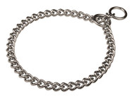 Remarkable Chrome Plated Steel Choke Chain Dog Collar - HS 51391 (02) 1/6 inch (4.0 mm)