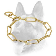 Improbable Dog Brass Fur Saver - 1/6 inch (4 mm)