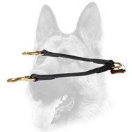 Ultimate Quality Leather Dog Coupler