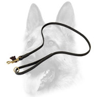 Incredible Latigo Leather Dog Leash