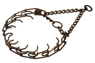 Dog Pinch Collar for Behavior Correction - 1/9 inch (3.0 mm) 50115 (13) Antique Copper plated