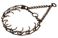 Exquisite Antique Copper Plated Steel Pinch Dog Collar - 1/6 inch (3.90 mm) 50145 (13)