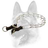 Strong Chrome Plated Pinch Dog Collar - 10320 (02) 1/8 inch (3.25 mm)