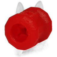 Small Everlasting Fire Plug Special Rubber Dog Ball for Chewing - Small