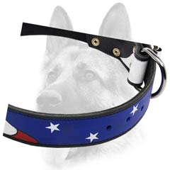 Superior durable leather dog collar