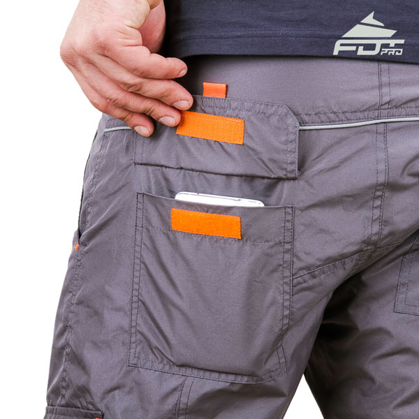 Convenient Design FDT Pro Pants with Reliable Side Pockets for Dog Trainers
