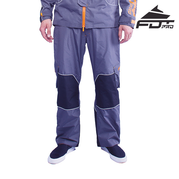FDT Professional Pants Grey Color for All Weather Use