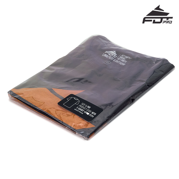 Prepacked FDT Pro T-shirt of Dark Grey