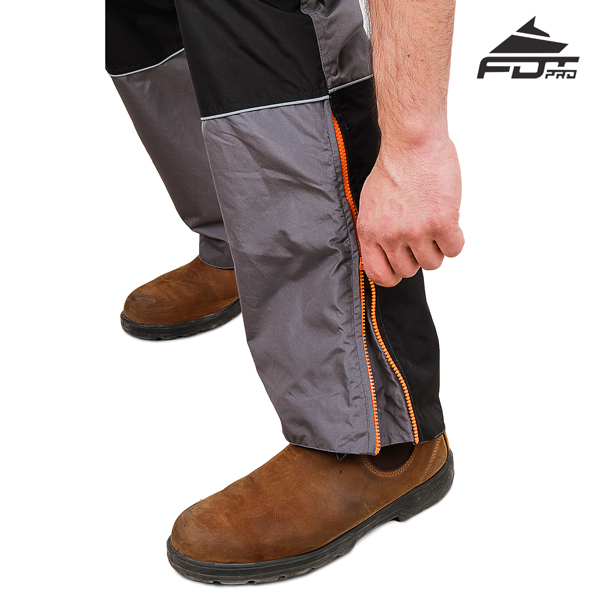 Pro Pants with Top Rate Zip fasteners for Dog Trainers