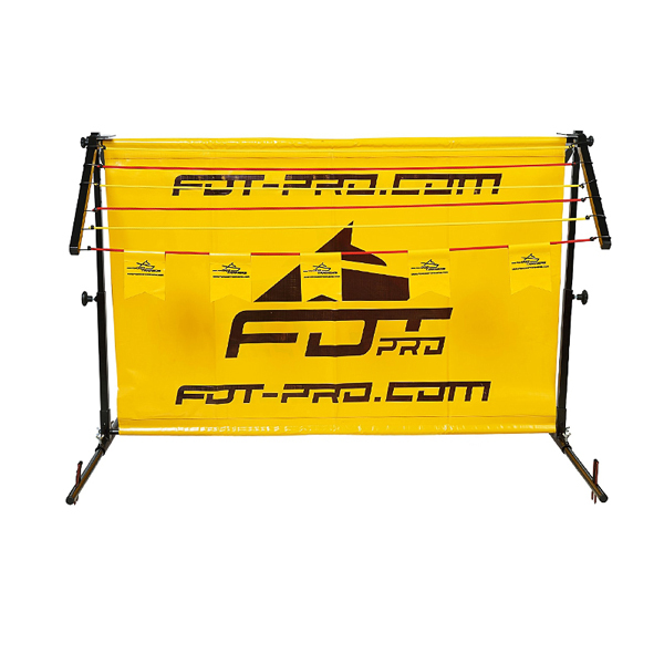 Aluminum/Polyster Barrier for Dogs for Long Jump Training