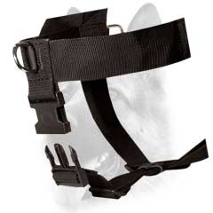 Heavy-duty washable nylon dog harness