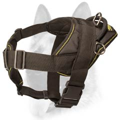High quality nylon dog harness for tracker dogs