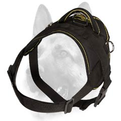 Absolutely comfortable and safe synthetic harness