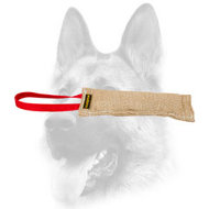 Dog Bite Tag ( Dog Bite Tug ) Made of Jute for Schutzhund Training