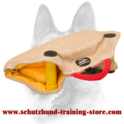 Amazingly Durable Puppy and Young Dog Training Jute Bite Builder