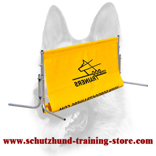 Dog Training Polymer Jump Barrier