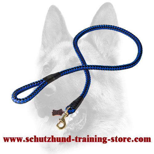 Cord Nylon Dog Leash for Large Dogs
