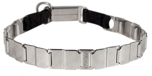 Premium Stainless Steel Neck Tech Dog Collar - 50051 010 (55) 19 inch (48 cm)