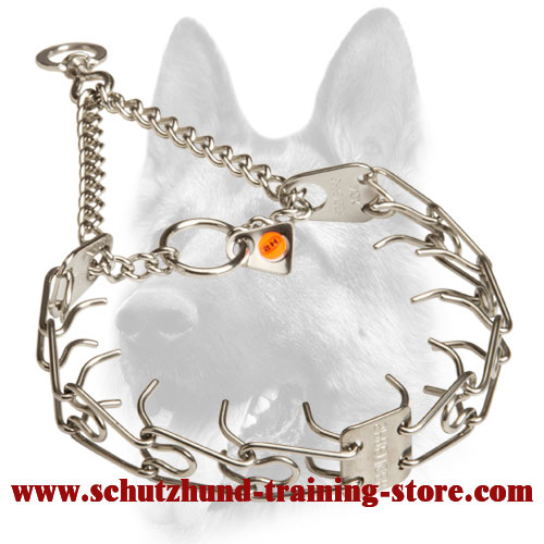 Stunning Quality Stainless Steel Dog Pinch Collar - 50135 010 (55) 1/11 inch (2.25 mm)