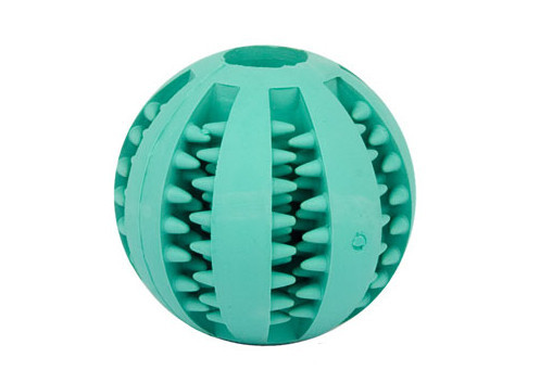 Large Dental Hygiene Dog Ball with Menthol Smell