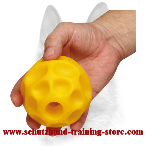 Challenging Medium Bright Treat Dispensing Ball - Medium