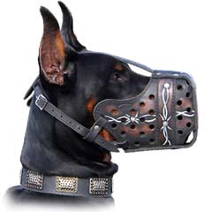 See how easy you can fix this Leather Muzzle