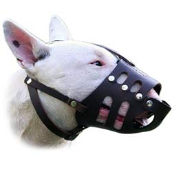 Super air flow in this fine leather muzzle