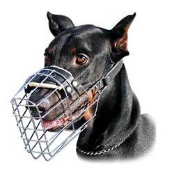 Absolutely ventilated wire cage muzzle