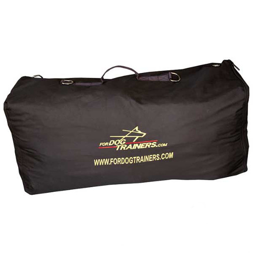 Dog training bag with comfy handles