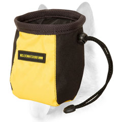 Extremely lightweight dog treat pouch
