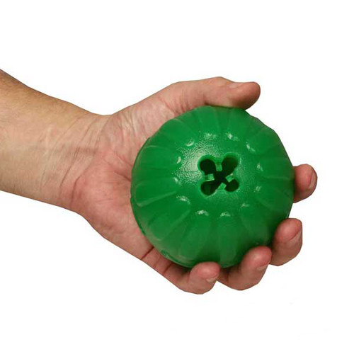 Dog toy for treat dispensing